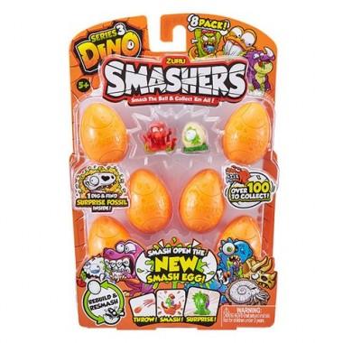 Smashers Дино-сюрприз в яйце, 8 шт