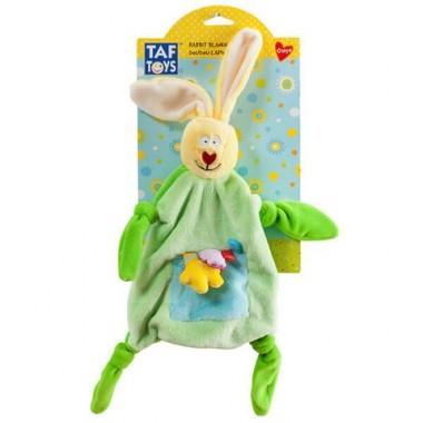 """Taf Toys 11055 Таф Тойс Платочек-прорезыватель """"Кролик"""""""