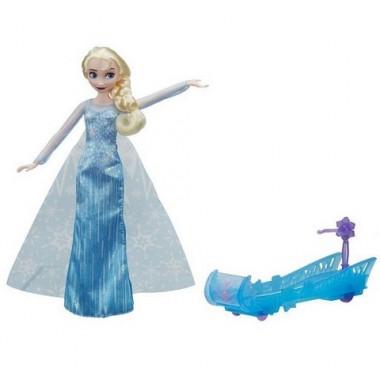 Hasbro Disney Princess Кукла Эльза и санки