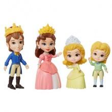Disney Princess Принцессы Дисней Набор 4 куклы София Прекрасная Семья 7,5 см